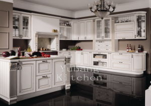 Hot Selling Wooden Kitchen Cabinets Home Furniture #2012-111 pictures & photos