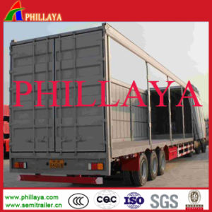 3 BPW/Fuwa Axles Curtain Trailer pictures & photos