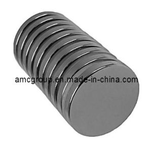 Nm-73 Strong Bonded NdFeB Magnet Disc From China Amc pictures & photos