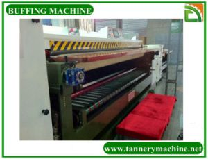 Through Feed Type Buffing Machine