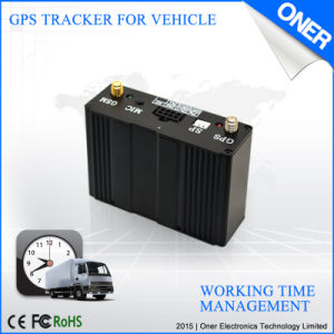 Global Vehicle GPS Tracker with RFID Reader, IC Card pictures & photos