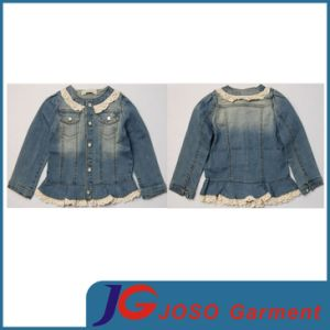 Kid Jeans Girl Jacket Girl Coat (JT5011) pictures & photos