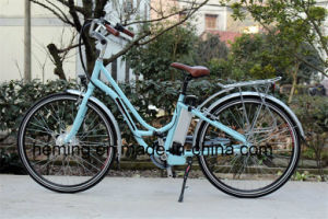 36V 250W Brushless Front Motor Lady Electric City Bike E-Bike pictures & photos