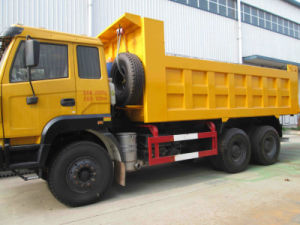 China Famous Brand 3axle 6X4 Dump Truck Hot Sale pictures & photos