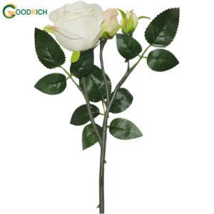 Single Stem Rose Artificial Flower pictures & photos