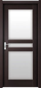 Interior Frosted Glass Bathroom Door (WX-PW-168) pictures & photos