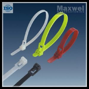 12.7X300mm Natural Color Reusable Type Nylon Cable Tie pictures & photos