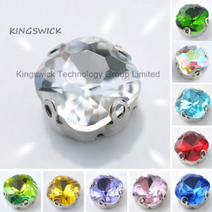 Best Selling Square Sew on Crystal Rhinestones pictures & photos
