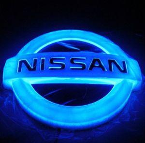 Hot Sale 4D Car Logo Light. ABS Plastic Chromed pictures & photos