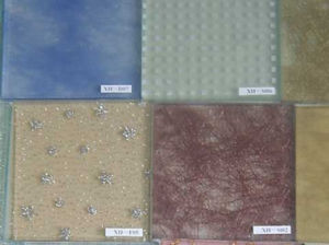 6.38mm Thickness Laminated Fabric Glass With Attractive Low Price pictures & photos