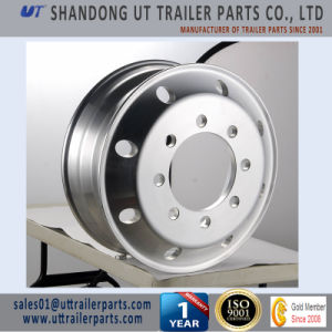 7.5X22.5 Forged Aluminum Alloy Wheel Rim for Truck and Trailer pictures & photos