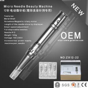 Korean Style 12needles Derma Pen Roller /Permanent Makeup Machine Zx12-22 pictures & photos
