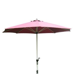 Delux Aluminium Umbrella with Crank (U1030) pictures & photos