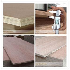 (Door Skin) Straight Teak Veneer Plywood pictures & photos