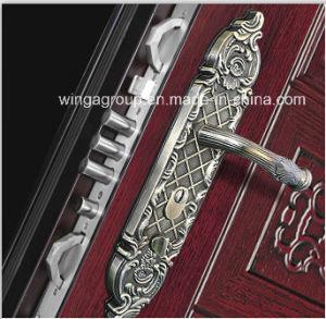 Good Price Security Metal Exterior Steel Iron Door (W-S-112) pictures & photos