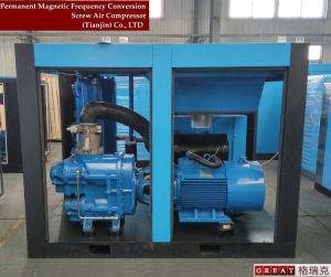 Two Stage Compression Screw Air Compressor pictures & photos
