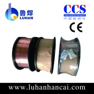 CE Certificated Copper Coated Welding Wire with CO2 Gas Shielded pictures & photos