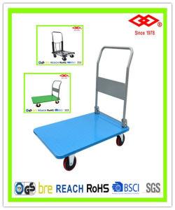 300kg Plastic Platform Hand Truck (LH05-300) pictures & photos