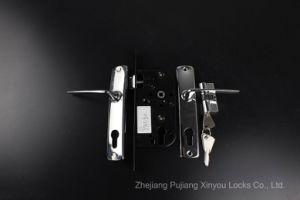 8945/802 Aluminium Handle Zinc Key Door Lock pictures & photos