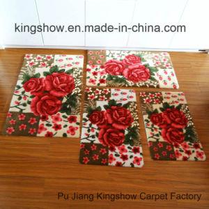 Printed Acrylic Kitchen Door Rug Floor Carpet (40*60)