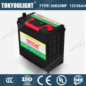 Super Maintenance Free Car Battery with N36mf 12V36ah