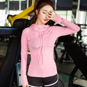 Wholesale Women′s Fitness Long Sleeves Gym Running Yoga Clothing pictures & photos