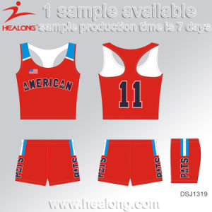 Healong Free Design Sportswear Customized Dye Sublimation Cycling Jersey pictures & photos