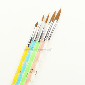 Nail Art UV Gel Painting Brush Set Tools 5PCS (B008) pictures & photos