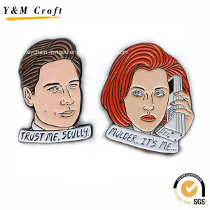 Metal Crafts Service Lapel Badges for Couple Ym1089 pictures & photos