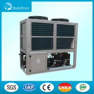 Hotel Ultra - Low Temperature Air Source Heat Pump Air Cooled Modular Unit Central Air Conditioning pictures & photos