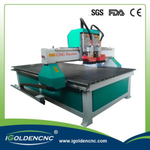 Nc Control System Aluminum Table Multi Spindle CNC Router
