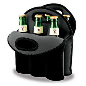 6 Pack Beer Bottle Neoprene Cooler Bag (BC-008) pictures & photos