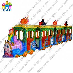 Amusement Park New Tourist Trackless Road Train pictures & photos