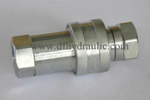 Pull and Push Ball Valve Quick Coupling pictures & photos