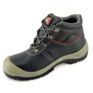 Suede Leather PU Sole Puncture Resistant Safety Boots Ce Standard pictures & photos