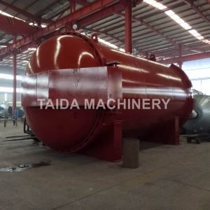Siemens PLC Rubber Hose Vulcanization Autoclave Vulcanizing Tank Vulcanizer Machine pictures & photos