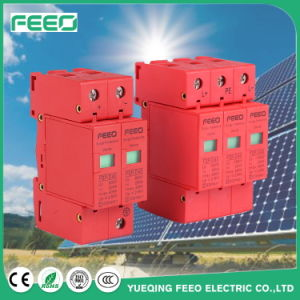 Red DC 2p 600V 20-40ka Surge Protection Device pictures & photos
