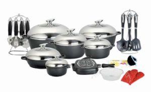35PCS Aluminum Cookware Set (UK-AS04)