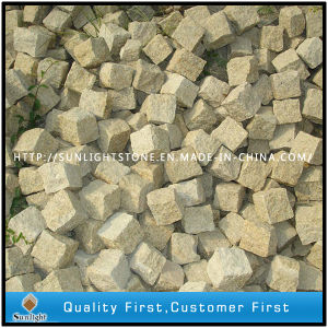 G682 Sunset Gold Granite Cobblestone/Paving Stone/ Concrete Pavers pictures & photos