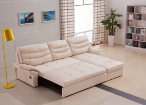 Sectional Leather Recliner Sofa for Living Room Furniture (973) pictures & photos