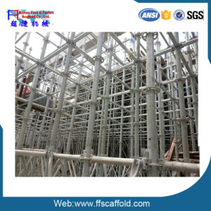 Drop Forged 48.3*3.25mm Ringlock Scaffolding Ledger (FF-B004B) pictures & photos