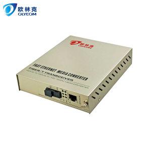 10/100Mbps 20km Wdm Single Fiber Media Converter