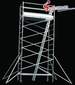 Aluminum Scaffolding Tower (L1.25 X W2.5 Series) pictures & photos