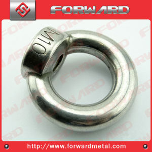 Forged Stainless Steel DIN582 Eye Nut AISI304 AISI316 Stainless Steel Forged pictures & photos