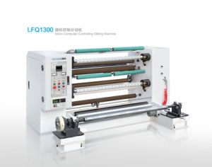 Micro-Computer Controlling Slitting Machine (LFQ1300 Model) pictures & photos