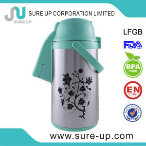 Fashion Stainless Steel Thermos Vacuum Flask with Glass Inner pictures & photos