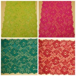 Wholesale Fashion Elastic Flower Lace for Garment Accessories pictures & photos