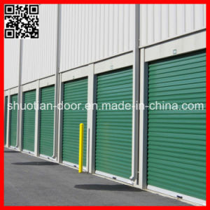 Motorized Secuirty Steel Industrial Roll-up Door (ST-002) pictures & photos