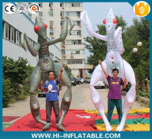 2016 Newwest Advertising Inflatable Moving Cartoon, Inflatable Character with Long Legs pictures & photos