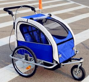Wholesale Best Price Three Wheels Baby Trailer pictures & photos
